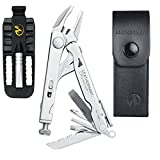 LEATHERMAN - Crunch Multi-Tool with Leather Sheath + Leatherman Removable Bit Driver Set