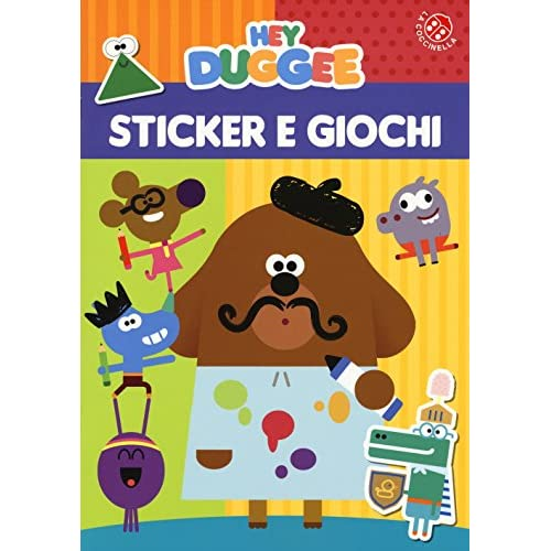 Sticker e giochi. Hey Duggee. Ediz. a colori