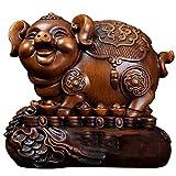 Hucha Piggy Banks Wood Money Bank Bank Inquebrantable Dinero para Niños Niños, Regalos Divertidos para El Festival De Cumpleaños Caja de Efectivo