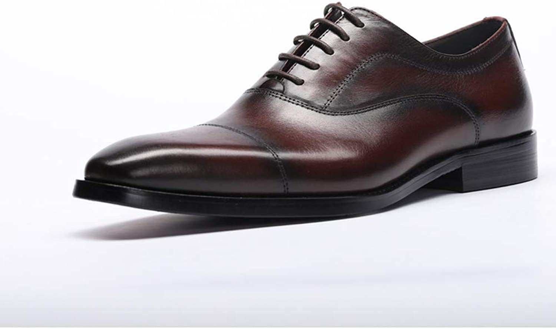 TAZAN Derby Robe Hommes d'affaires Robe Robe a souligné Dentelle Uniforme Bureau Travail fête Décontracté Chaussures Mariage Oxford Grande Taille