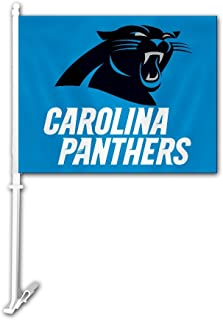 carolina panthers car flags
