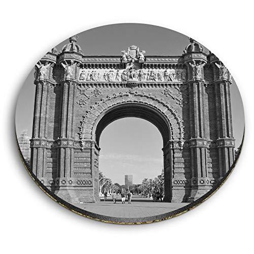 Destination 35052 - Imanes redondos de MDF con arco de triomf Barcelona...
