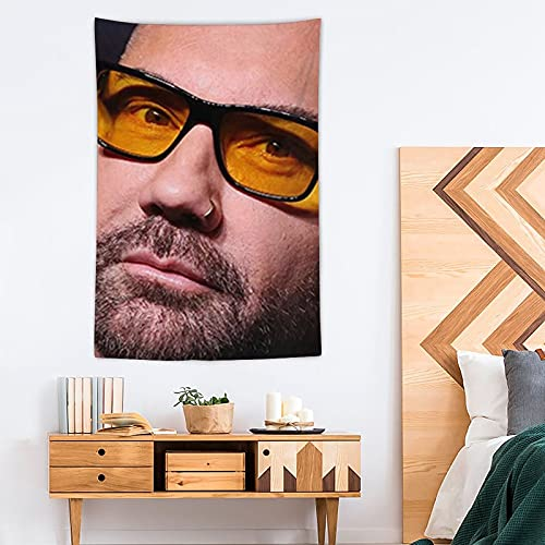FNWD - Arazzo decorativo in poliestere, motivo: Dave Bautista, 100 x 150 cm