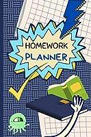 Homework Planner: Kids Homework Assignment School Notebook Planner