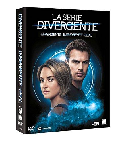 Pack Saga Divergente DVD