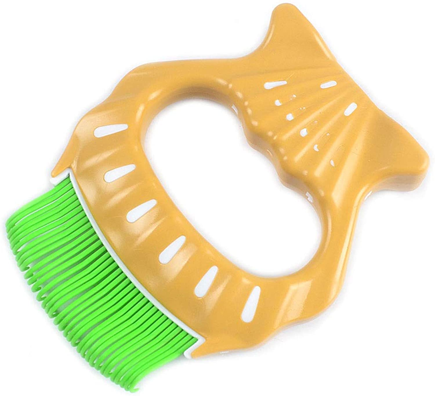 Pet Massage Brush Shell Shape ABS Material Pet Grooming Tool for Preventing Hair Knotting 3 Models for Different Types of Cats and Dogs (color   C)