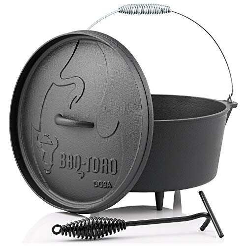 BBQ-Toro Dutch Oven Alpha Serie I bereits eingebrannt - preseasoned...