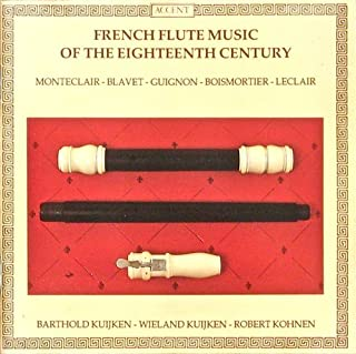 French Flute Music Of The Eighteenth Century