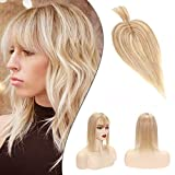 Hair Toppers With Bangs For Women Clip In...