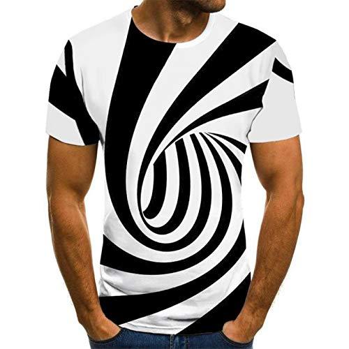 T-shirt znadrukiem3D clolrful streetwear t-shirtKoszuleHarajuku Tshirt