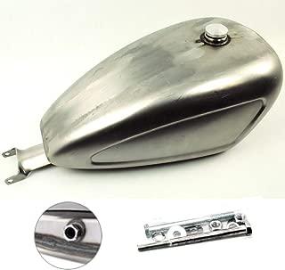 TTX-LIGHTING Indented 3.3 GAL Carburetor Gas Tank Fuel For Harley Davidson Sportster 883 1200 XL 2004-2010 CARB Chopper Bobber
