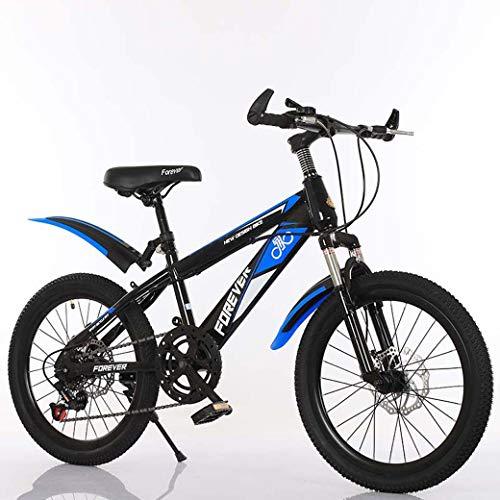 20-Inch variabele snelheid mountainbike, comfortabel zadel, anti-slip pedaal, Kids Bike, verende voorvork, veilige en gevoelige Brake