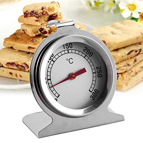 Termómetro de horno de cocina seguro de acero inoxidable, termómetro de horno de acero inoxidable ecológico, termómetro, para el hogar