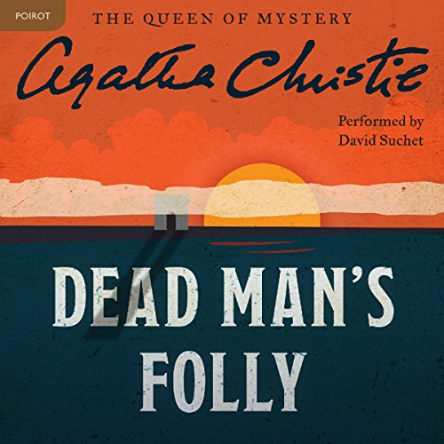 Dead Man's Folly audiobook cover art