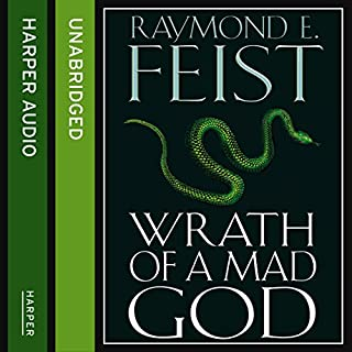 Wrath of a Mad God audiobook cover art