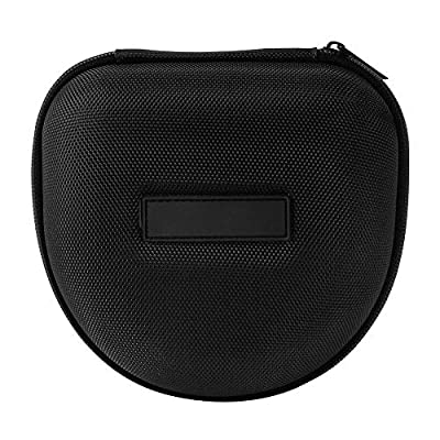 Hard EVA Shell Headphone Case Headset Protective EVA Pouch Travel Bag for Marshall Major I/Major II Bluetooth On-Ear Headset (Black) from JRQ