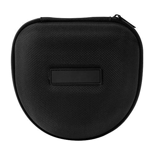 Hard EVA Caja Estuche de auriculares Auriculares Funda Bolsa de Almacenamiento Viaje para Marshall Major I/Major II Auriculares Plegables Bluetooth en el oído(Negro)