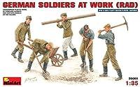 ミニアート 1/35 ドイツ兵作業シーンRAD国家労働奉仕団フィギュア プラモデル