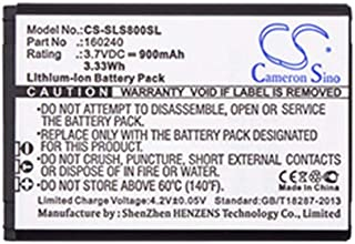 Replacement Battery for SteelSeries Headset - TCHAN 900mAh Li-ion H Wireless Gaming-Headset SteelSeries 61298RX/Siberia 800/Siberia 840 Battery