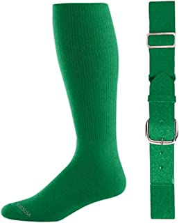 kelly green youth baseball socks