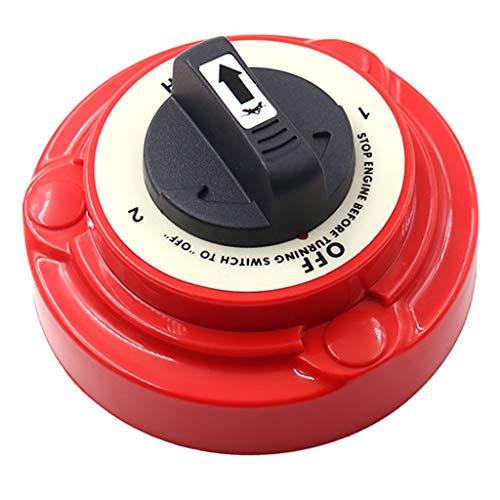 Shiwaki 230A 4-Positionen Batterietrennschalter Batterie Wahlschalter für Boot Jacht Wohnwagen RV usw.