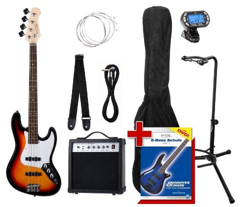 Rocktile Groovers Pack JB E-Bass Set III Sunburst