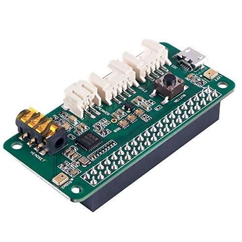ReSpeaker 2-Mics Pi HAT (Raspberry Pi HAT, Raspberry Pi Expansion Board) Smart Voice Dual Mikrofon Expansion wm8960, entworfen für AI und Sprachanwendungen für Raspberry Pi Zero / Zero W/3B/2B/B+