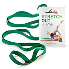 "Includes one original OPTP Stretch Out Strap and one instructional exercise book: The first stretching strap on the market in 1993, still recommended by professionals today 6'4"" woven nylon strap with 10 individual loops: Authentic design proven to b..."