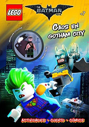 Lego Batman. Caos en Gotham City: Minifigura Exclusiva Tartan Batman. Actividades. Cuento. Cómics