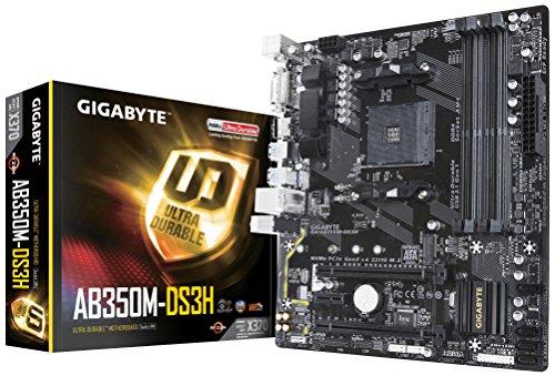 GIGABYTE GA-AB350M-DS3H (AMD Ryzen AM4/ B350/ 4x DDR4/ HDMI/ M.2/ SATA/ USB 3.1 Gen 1/ /...