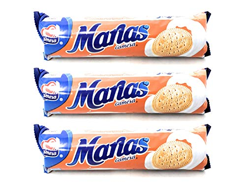 Gamesa Maria Cookies (3 Pack, Total of 14.7oz)