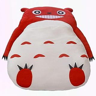 Mopoq Cute Pink Totoro Single Bed Lazy Sofa Bed Kids Adult Sleeping Bag Sofa Bed Creative lazy sofa Comfortable Soft Carto...