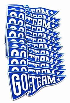 Go Team  Pennant  Many Colors   Royal 12pc