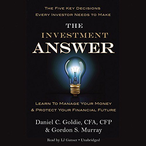 The Investment Answer audiobook cover art