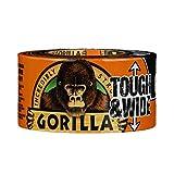 Gorilla(ゴリラ) 超強力ダクトテープ (73mm x 27.4m, 黒) [並行輸入品]