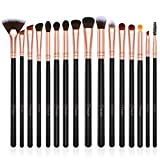 Eye Makeup Brushes Set,BESTOPE 16 Pieces Professional Cosmetics Brush, Eye Shadow, Concealer, Eyebrow