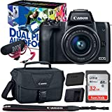 Canon EOS M50 Video Creator Kit with EF-M15-45mm...