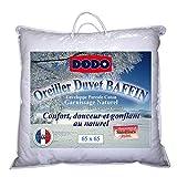 DODO OREILLER BAFFIN 15% DUVET DE CANRD - MÉDIUM - 65 x 65 cm