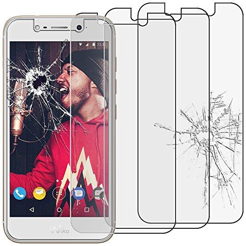 ebestStar - kompatibel mit Wiko Wim Lite Panzerglas x3 Schutzfolie Glas, Schutzglas Bildschirmschutz, Bildschirmschutzfolie 9H gehärtes Glas [Phone: 144 x 71.7 x 8.75mm, 5.0'']