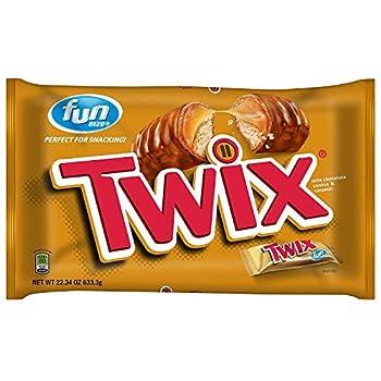 Twix Fun Size Cookie Bars - Caramel - 22.34 oz