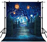 OUYIDA 8X8FT Halloween Theme Pictorial Cloth Seamless Customized Photography Backdrop Background Studio Prop TP263B