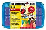 Eberhard Faber 524011 - Wachsmalkreiden dreiflächig