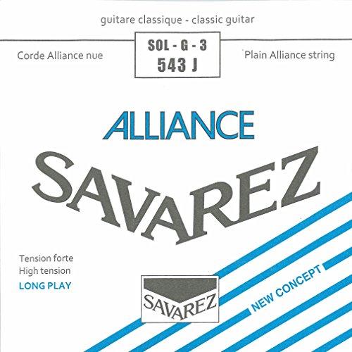 Savarez Strings 543J Nylonsaiten für Klassikgitarre, Medium