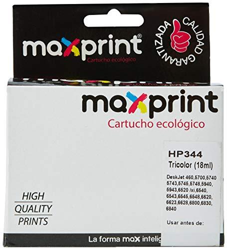Maxprint C9363EE - Cartucho inkjet, tricolor (amarillo, magenta, cian)