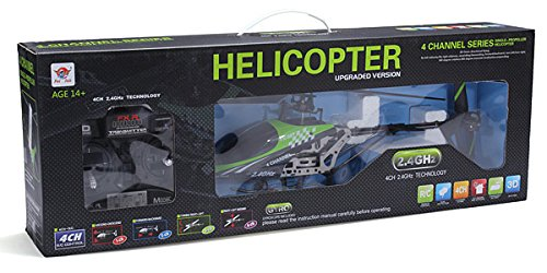 s-idee® 01154   FX078B 4.5 Kanal 2,4 Ghz Heli Hubschrauber RC ferngesteuerter Hubschrauber/Helikopter/Heli mit GYROSCOPE-TECHNIK + 2,4Ghz TECHNOLOGIE!!! für INNEN und AUSSEN brandneu mit eingebautem GYRO und 2.4 GHz Steuerung! FLUGFERTIG!