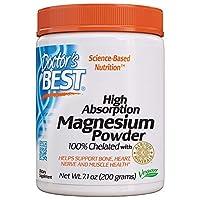 High Absorption Magnesiumchelat Pulver (200g) - Mit höchster Bioverfügbarkeit