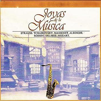 Joyas de la Música, Strauss, Tchaikovsky, Massenet, Albinoni, Rossini, Delibes, Mozart