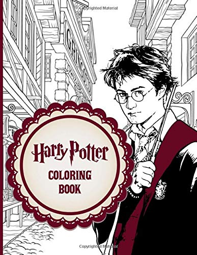 Potter Coloring Book: Harry Coloring Books For Adults