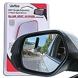 LivTee Blind Spot Mirror,Rhombus Shaped HD...