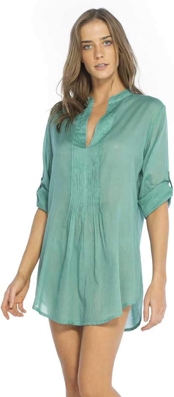Vix Women's Emerald Mini Fold Chemise,
